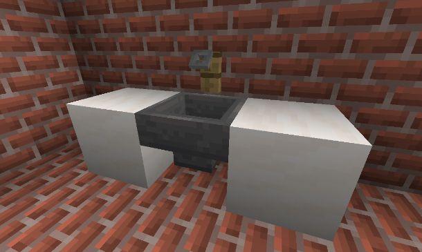 Lavandino su Minecraft
