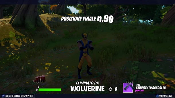 Come sconfiggere Wolverine Fortnite