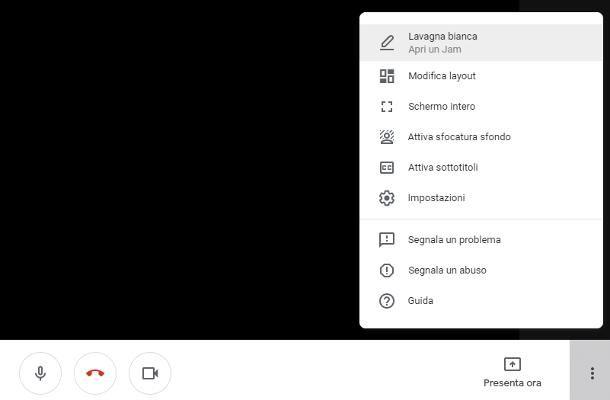 Come mettere gli effetti su Google Meet