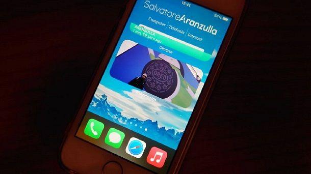 Widget iOS