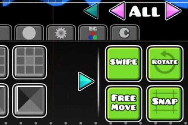 Swipe Geometry Dash