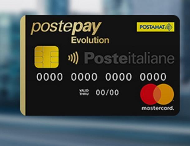 Come ricaricare PostePay Evolution online