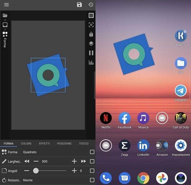 Come creare widget personalizzati su Android