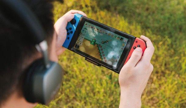 Come collegare le cuffie wireless alla Nintendo Switch