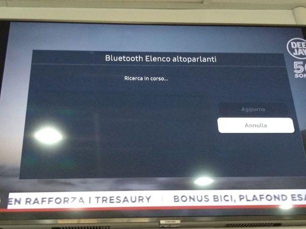 Come collegare casse Bluetooth alla TV Samsung