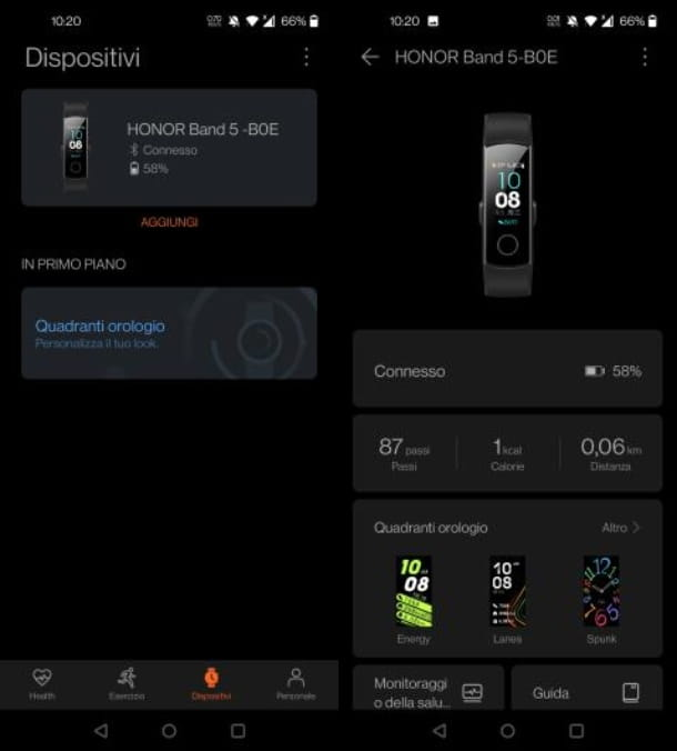 Associare l'orologio Huawei Android