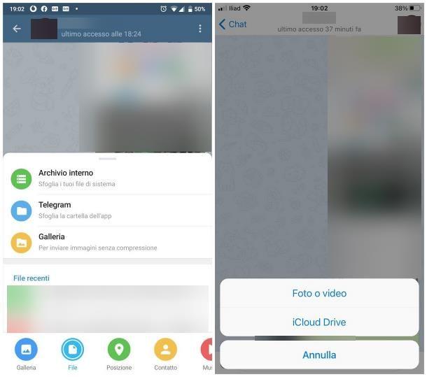 Come inviare foto senza perdere qualità Telegram