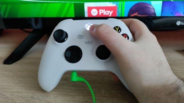 Pulsante Xbox Series S