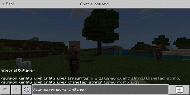 Come creare un NPC su Minecraft Bedrock Edition
