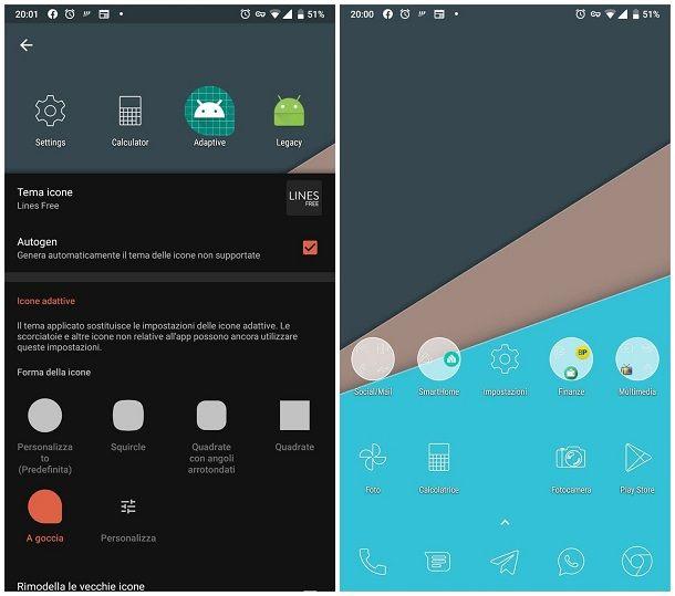 Metodo alternativo per cambiare le icone delle app su Android