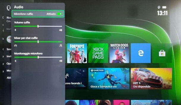 Audio cuffie microfono Xbox