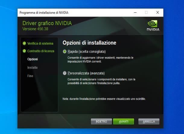 Come installare i driver della scheda video