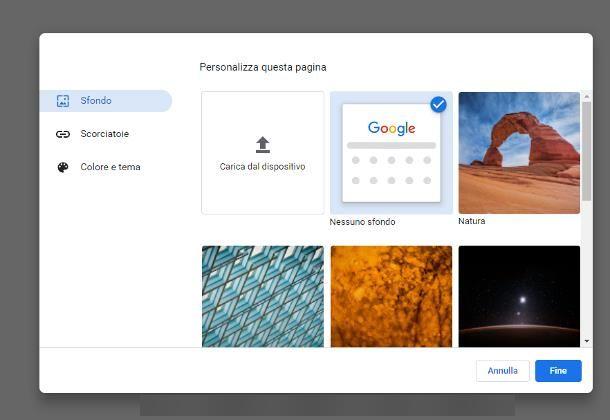 Come mettere uno sfondo animato su Google