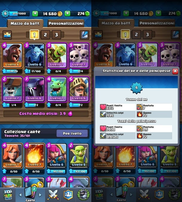 Come costruire un deck Clash Royale