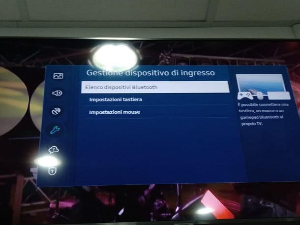 Come attivare Bluetooth su TV Samsung per tastiera e mouse