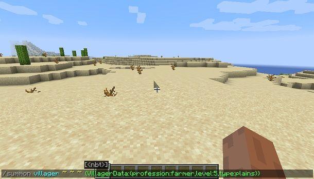 Come creare un NPC su Minecraft Java Edition
