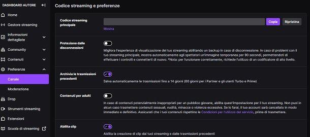 Come salvare le live su Twitch da PC