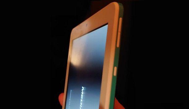 Pulsanti laterali tablet Mediacom