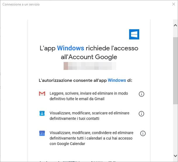 Come associare account Google ad un dispositivo Windows 10