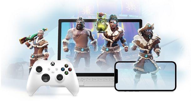 Xbox xCloud Game Pass Browser iPad Windows 10 iPhone