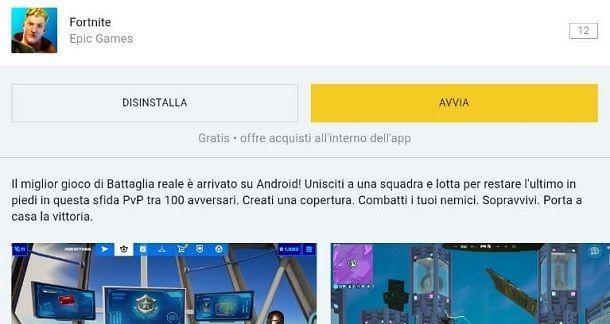 Come installare Fortnite Epic Games Launcher Mobile