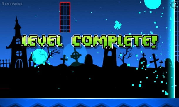 Geometry Dash fine livello