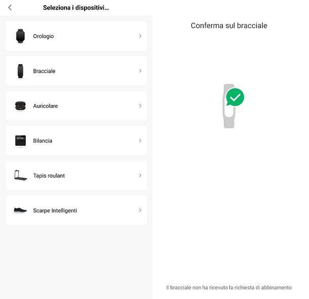 Abbinare indossabile Amazfit smartphone