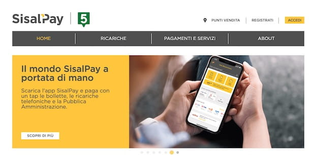 Come attivare SisalPay online