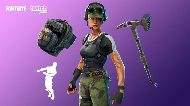 Fortnite Twitch Prime Gaming