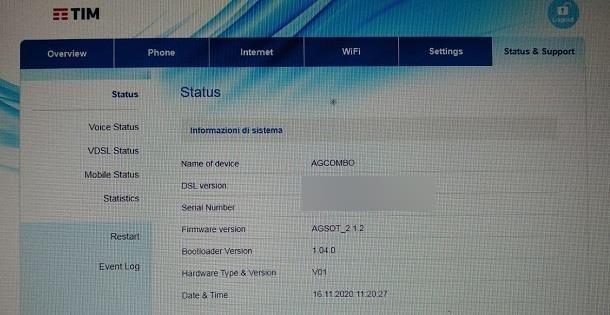 Come aggiornare il firmware del router