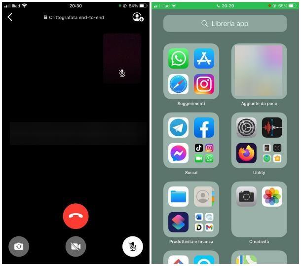 Cos'è il pallino verde o arancione su iPhone