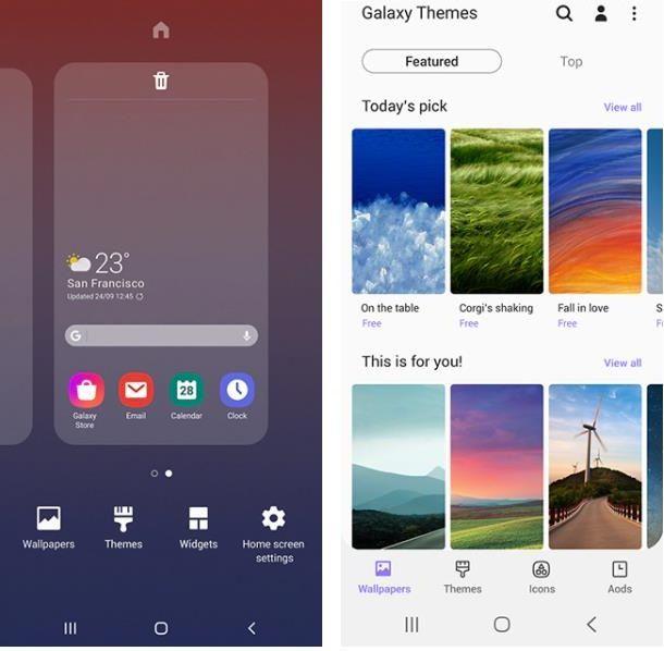 Come cambiare le icone delle app su Samsung