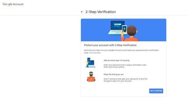 Attivare il 2FA negli account online e social network