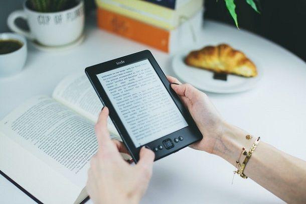 Come caricare un libro su Kindle