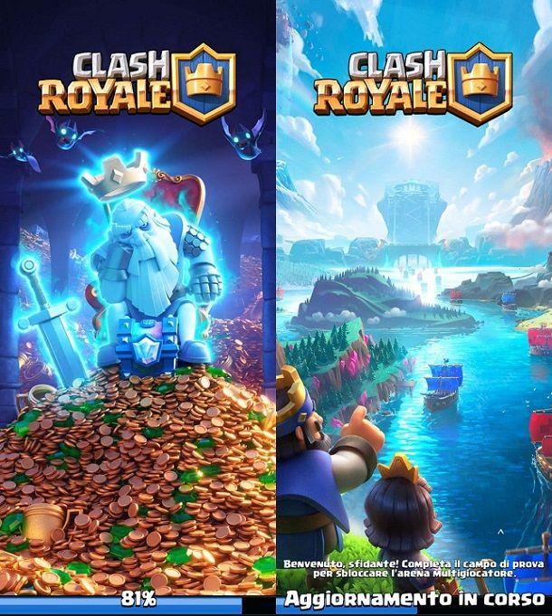 Aggiornamento Clash Royale