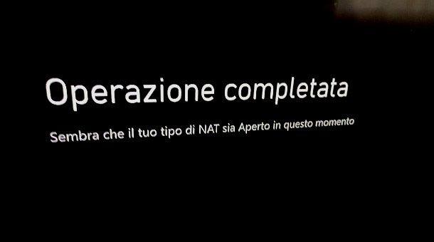 NAT aperto Xbox