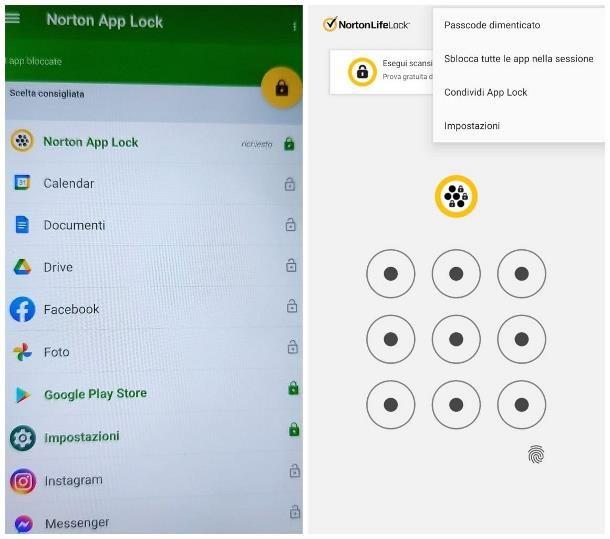 Come togliere il blocco app su Android