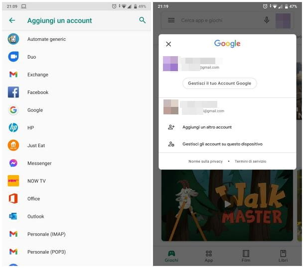 Come associare Google a un dispositivo Android