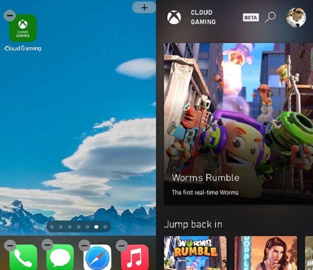 Come usare xCloud Xbox Game Pass su iPhone e iPad