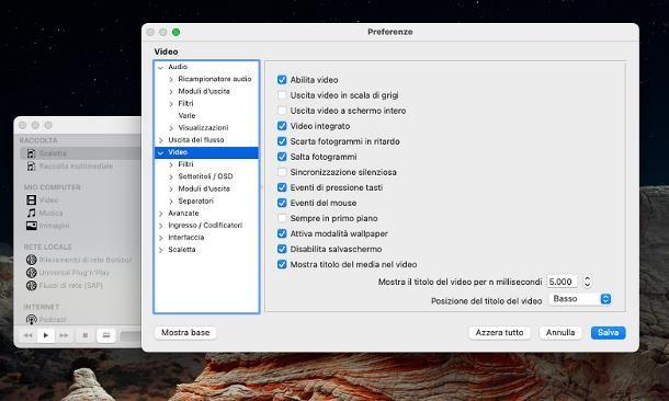 Come mettere uno sfondo animato su Mac