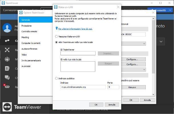 Come accendere un PC da remoto con TeamViewer