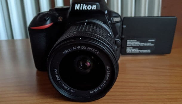 Nikon macchina fotografica