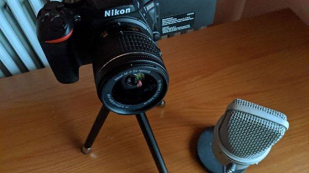 Come usare una fotocamera Nikon come webcam