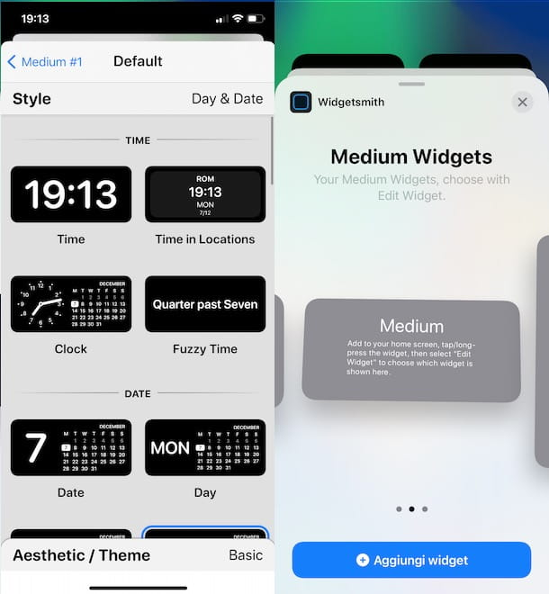Come personalizzare iOS con Widget Smith