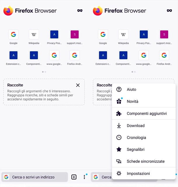 Popup Firefox