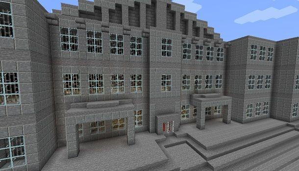 Costruire una banca su Minecraft