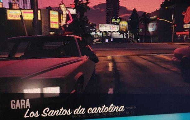 Los Santos da cartolina GTA Online