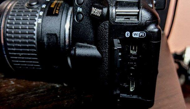 Nikon porta microUSB