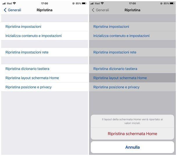 Come organizzare iOS
