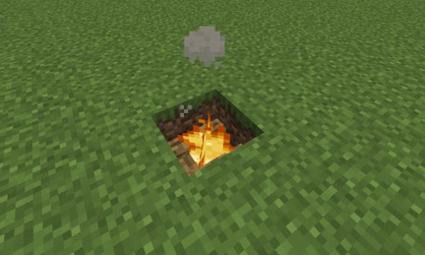 Barbecue su Minecraft